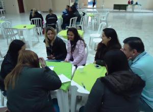 Participantes discutiram prioridades de a��es para o bairro